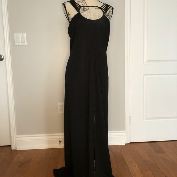 After Six Dresses & Skirts - Elegant After Six black dress by Ronald Joyce